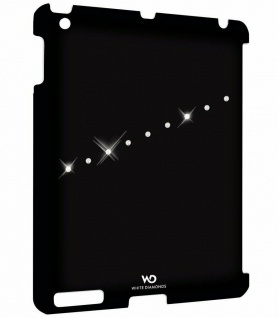 White Diamonds Hard-Cover Schutz-Hülle Hard-Case Cover für Apple iPad 2 3 4