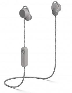 Urbanears Jakan Bluetooth In-Ear Headset Grau Kopfhörer Mikrofon + Fernbedienung