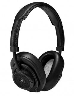 Master & Dynamic MW50+ Black Wireless Headset Bluetooth BT Kopfhörer Earphones
