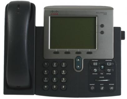 Cisco IP Phone 7942 Series VOIP Telefon CP-7942-G 7942G IP Telephone Netzwerk