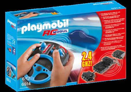 Playmobil 6914 RC-Modul-Set 2, 4 GHz Fernsteuerung für alle RC-fähigen Fahrzeuge