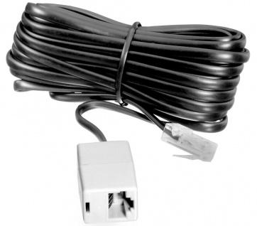 Vivanco 10m RJ45-Verlängerung Telefon Modular 8P4C Stecker - Kupplung ISDN-Kabel