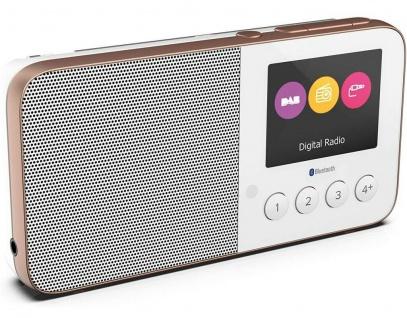Pure Move T4 tragbares FM UKW DAB+ Taschen-Radio Kleines Digital-Radio Player