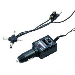 Spannungs-Wandler Adapter Zigarettenanzünder Universal Netzteil Lader 1, 5V - 12V