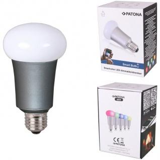 Patona Farbwechsel Bluetooth Smart LED Birne Lampe E27 7W Leuchte f. Android iOS