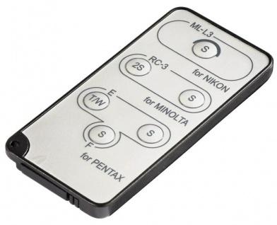 Hama Funk-Auslöser IR Fernbedienung Fern-Auslöser für Nikon Pentax Minolta DSLR