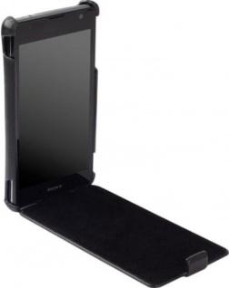 Krusell Donsö Flip-Cover Leder Tasche für Sony XPERIA TX LT29i Hülle Hard-Case