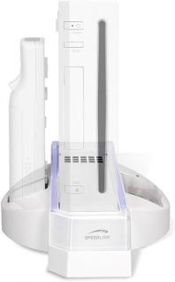 Speedlink Ständer + Ladegerät für Nintendo Wii Konsole Wiimote Docking-Station