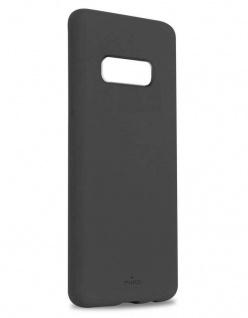Puro ICON Cover Silikon Hülle Hard-Case Tasche für Samsung Galaxy S10e S10 Edge