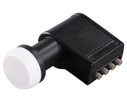 Grundig GSS Quadswitch-LNB schwarz SAT-Multischalter Analog Digital 40mm Feed