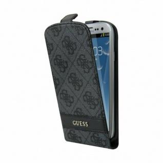 Guess Flip-Cover Klapp-Tasche Schutz-Hülle Case Etui für Samsung Galaxy S3 SIII