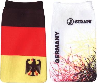 J-Straps Handy-Socke DEUTSCHLAND GERMANY Socke Tasche Köchertasche Etui Hülle