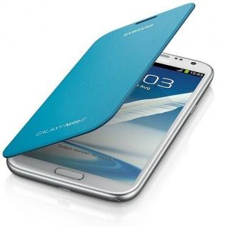 Samsung Flip-Cover Klapp-Tasche Schutz-Hülle Etui für Galaxy Note 2 II / LTE NFC