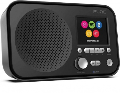 "Pure Elan IR5 Internet-Radio Küchen-Radio Bluetooth Spotify 2, 8"" TFT-Display etc"