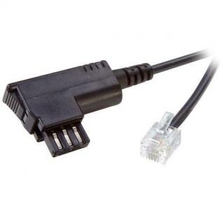 Vivanco 6m Fax-Kabel Modem-Kabel Telefon-Kabel TAE-N RJ-12 6P6C Stecker Faxgerät
