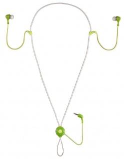 Thomson Mikro MP3 Kopfhörer Headset HED135N 3, 5mm Klinke Pistacchio für Handy