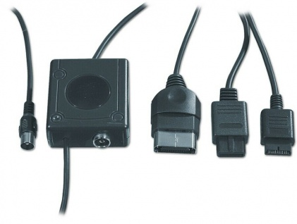 Speedlink RFU TV-Adapter UHF Modulator AV Kabel Antenne für Microsoft XBOX X-BOX