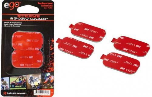 3M VHB Klebepads Klebe-Platte Halterung Halter für Action-Cam Kamera Camcorder