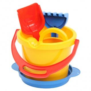 Dantoy 8830 Eimer-Set Sandkasten Spielzeug Kinder-Eimer Schaufel und Gießkanne