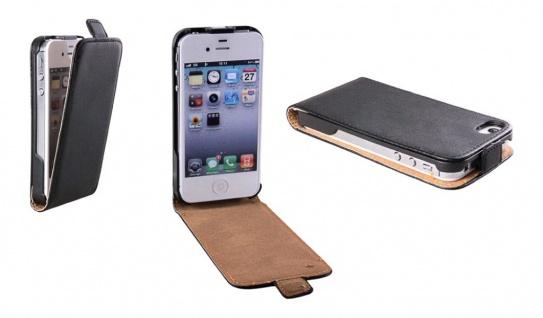 Patona Slim Cover Klapp-Tasche Schutz-Hülle Case Cover für Apple iPhone 4 / 4S