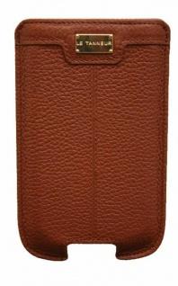 Le Tanneur Pouch Tasche Case Etui Schutz-Hülle braun für Samsung Galaxy SII S2