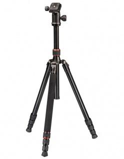 Hama Dreibein-Stativ Trekking Duo 160cm 3D 3-Wege-Kopf Kamera-Stativ Foto-Stativ