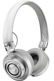 Master & Dynamic MH30 White On-Ear Headset Kopfhörer Earphones 3, 5mm Klinke