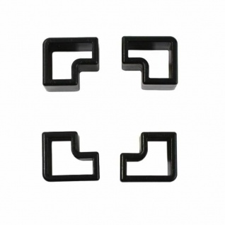 USM Haller Halter-Set Stopper Ecken für Material-Schalen Roll-Container Stifte