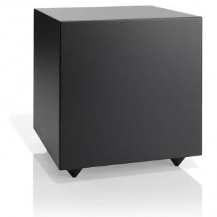 "Audio Pro Addon SUB Black 20cm / 8"" Aktiv Bassreflex Subwoofer Lautsprecher HiFi"