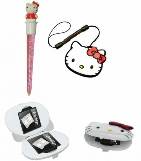 Hello Kitty PACK Jumbo Stift + Spiele-Hülle für Nintendo New 3DS 3DS XL Konsole