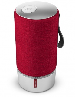 Libratone Zipp Speaker Cover Wool Raspberry Red Lautsprecher-Bezug Boxen Stoff