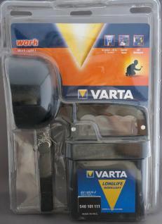 Varta Taschenlampe Licht Lampe Arbeitsleuchte FlashLight Work mit Batterie