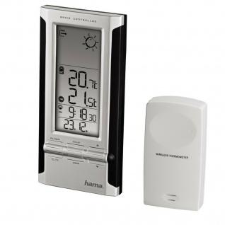 Hama Elektronische Wetterstation EWS-280 Wecker Außensensor Barometer