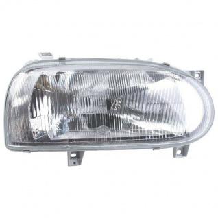 Hella Haupt-Scheinwerfer Rechts Halogen Front-Lampe für VW Golf III 3 1H 1H1 1H5
