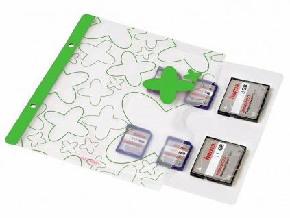 Hama Memory Card File für Ordner SD/CF/etc Speicherkarten-Tasche Index Case Etui