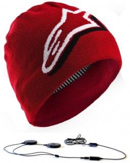 Aerial7 Duly Kopfhörer Mütze Beanie integriertes Headset 3, 5mm Klinke Handy MP3