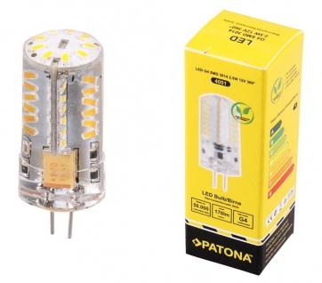Patona LED Glüh-Birne G4 SMD-3014 Stift-Sockel 2, 5W / 20W 3000K 12V Leuchtmittel