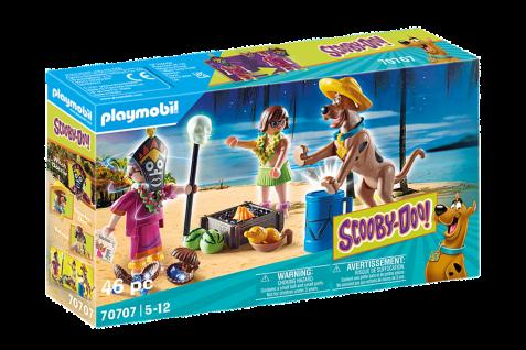 Playmobil 70707 SCOOBY-DOO! Abenteuer mit Witch Doctor Abenteuer Spielset Urlaub