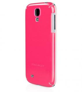 Macally Cover Pink Schutz-Hülle Hard-Case Handy-Tasche Bag für Samsung Galaxy S4