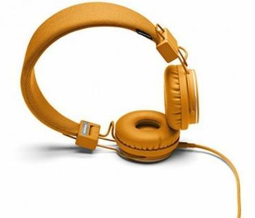 Urbanears Plattan I Headset Orange On-Ear Kopfhörer Mikrofon + Fernbedienung