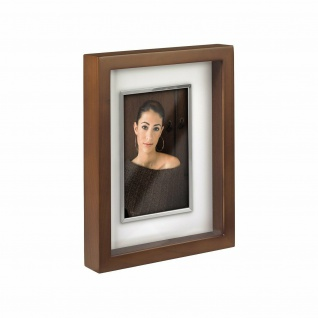 Hama Portraitrahmen Bradford 13 x 18 cm Nuss Portait Bilder-Rahmen Holz-Rahmen