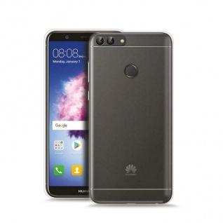 Puro Ultra Slim 0.3 Nude Cover TPU Case Schutz-Hülle Klar für Huawei P-Smart