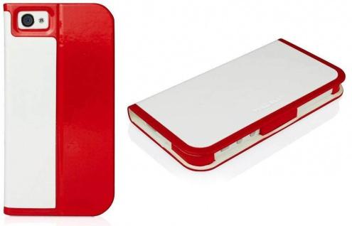 Macally Schutz-Hülle Slim-Case Cover Klapp-Tasche Etui für Apple iPhone SE 5 5S