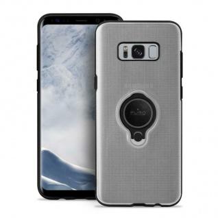Puro Magnet-Ring Cover TPU Case Schutz-Hülle Clear Tasche für Samsung Galaxy S8+