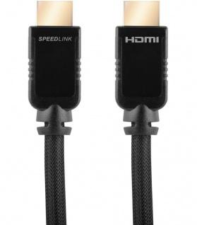 Speedlink 5m HDMI-Kabel Ultra HD UHD Ethernet 3D HDTV für HD TV Konsole PS4 Xbox