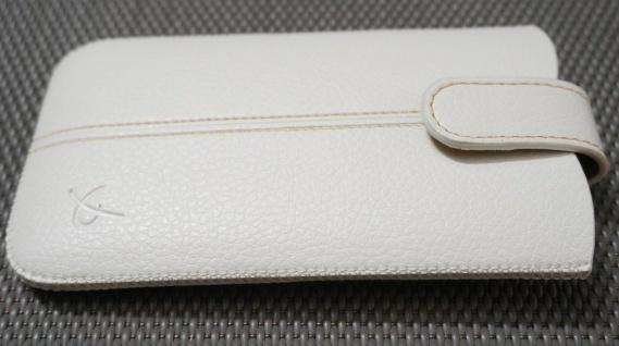 DOLCE VITA Leder-Tasche Etui Hülle für LG E455 E460 E610 D605 Optimus L5 L9 II 2