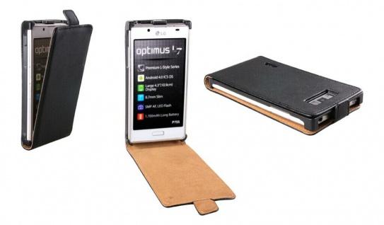 Patona Slim Cover Klapp-Tasche Schutz-Hülle Cover Case für LG P700 Optimus L7
