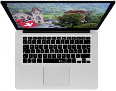 KB Tastatur-Abdeckung Schweiz CH Swiss Schutz-Cover Skin für MacBook Pro / Air