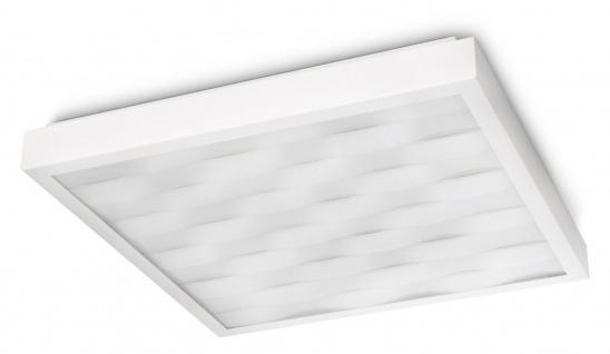 Philips In-Style Waves Deckenleuchte weiss 60 Watt Deckemlampe Lampe Leuchte