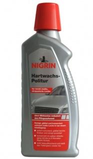 Nigrin Hartwachs-Politur 500ml Lack-Politur Lack-Versieglung Auto-Wachs PKW KFZ